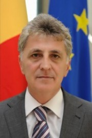 Minister of Administration and the Interior<br>Mircea Duşa