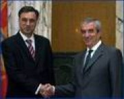 Today, Prime Minister Calin Popescu - Tariceanu has met with the President of the Republic of Montenegro, Mr. Filip Vujanovic.